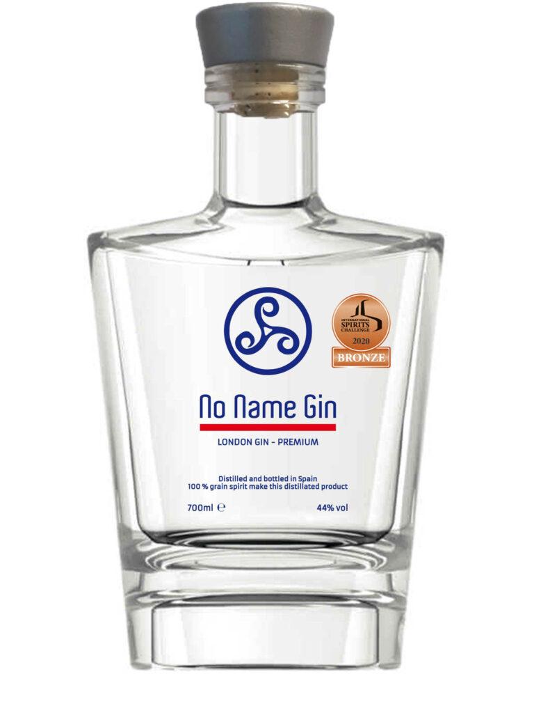 No Name Gin   International Spirits Challenge 2020   Medalla de Bronze