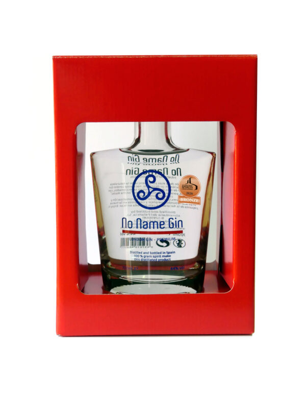 No Name Gin | International Spirits Challenge 2020 | Medalla de Bronze